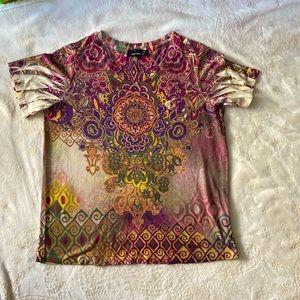 Multicoloured Size 1X Laura Plus t-shirt